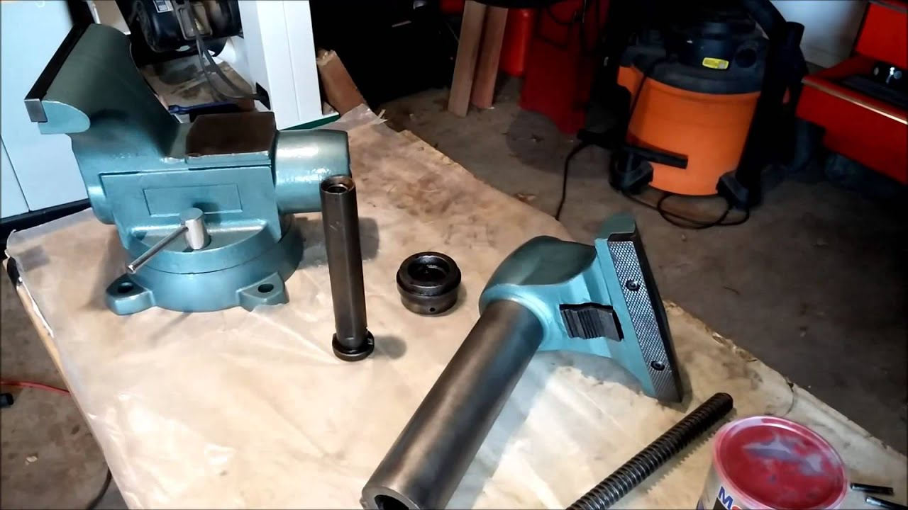 Wilton 8 1780 Vise Restoration P11 Reassembly Youtube