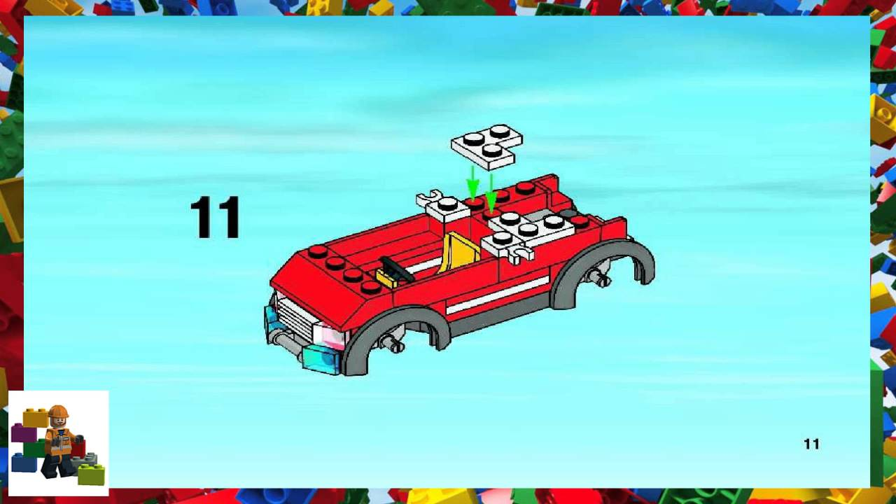 Lego Instructions City Fire 7945 Fire Station Book 1 Youtube