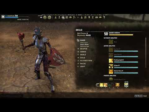 Eso Templar PvP Heal/Support build (Heavy armor)