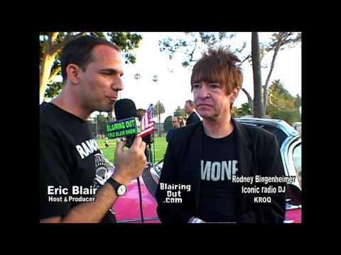 Rodney Bingenheimer & Eric Blair @ Johnny Ramone Tribute 2005