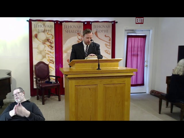 3/21/21 - Sunday Morning Worship Speaker Anthony Cordero