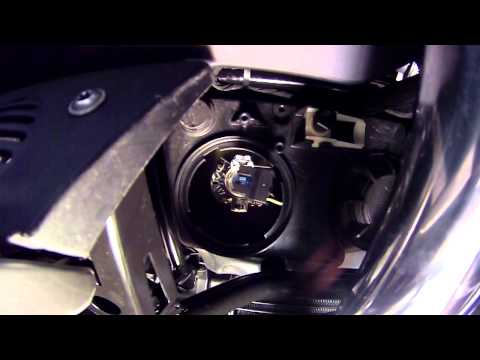 BMW R1200 RT Headlight Change Instructions