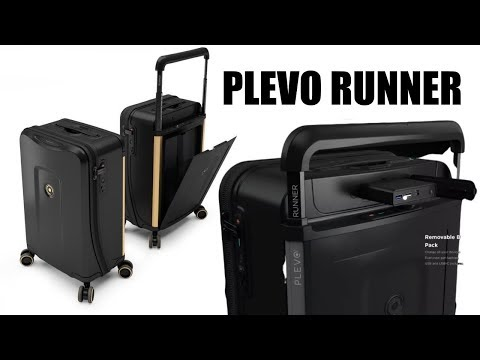 PLEVO Runner - The Luggage Bag from the Future! - Face/Touch ID + More - Any Good?