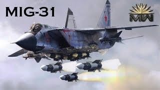MiG31 (Foxhound) Russian Fastest Combat JET [Review]