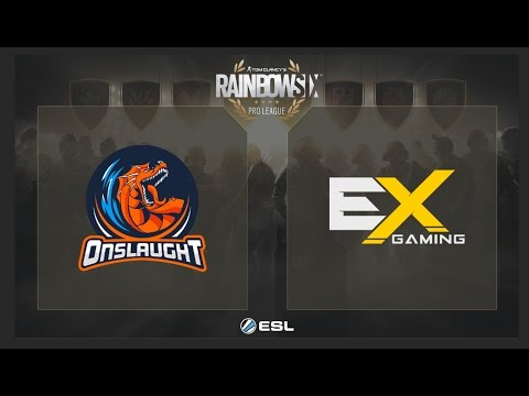 Onslaught Clan vs. eXcellence Gaming - Rainbow Six Pro League on XBox - NA - Playday 4