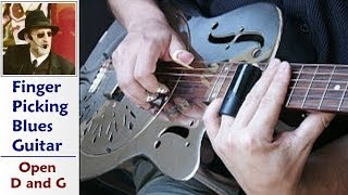 Jim Bruce Blues Guitar - Crossroads - Robert Johnson (Cover)