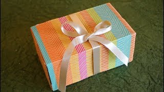 DIY How to reuse waste boxes | Gift packing Ideas | Easy craft