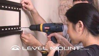 Level Mount HE800F Fixed TV Wal Mount