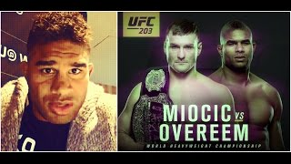 Alistair Overeem Q&A before the UFC 203; talks Stipe Miocic, Brock Lesnar and CM Punk
