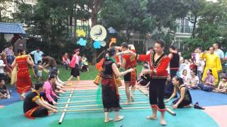Bamboo Dance - Fraser Suites staff - Moonlight Fiesta