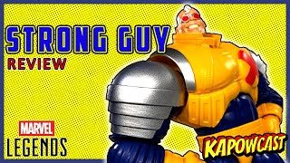 MARVEL LEGENDS STRONG GUY BAF REVIEW