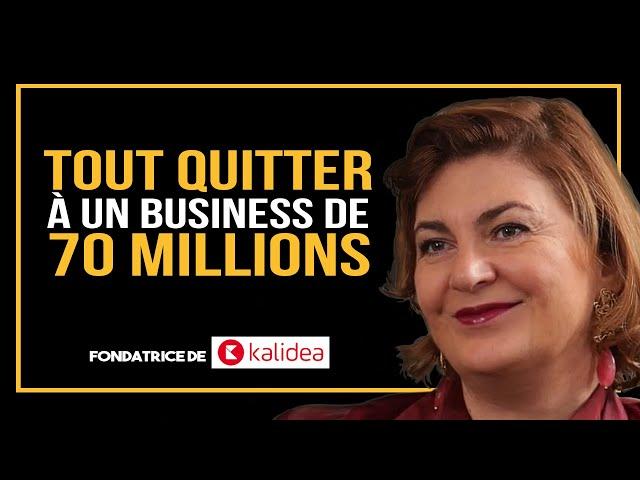 De quitter son job à un business de 70 MM - les conseils d'une femme hors du commun - Sandra Legrand