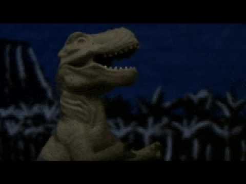 Alone Dinosaur part 1 stopmotion