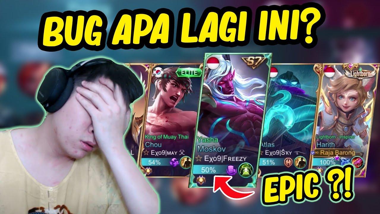 Udah Mythical Glory Malah Ketemu Epic, Kok Bisa?! - Mobile Legends