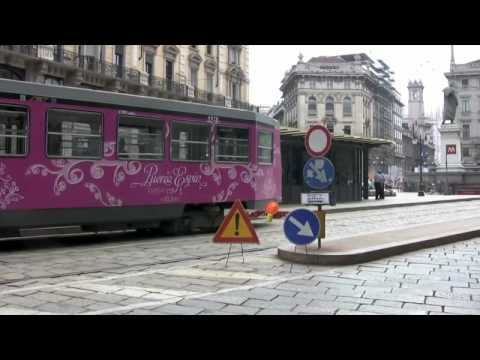 STREET CARS OF MILAN in High Definition