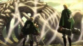 Attack on Titan - Levi First Respect on Erwin Smith