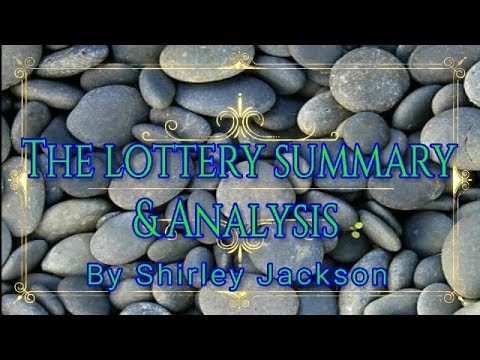 the lottery setting analysis essay