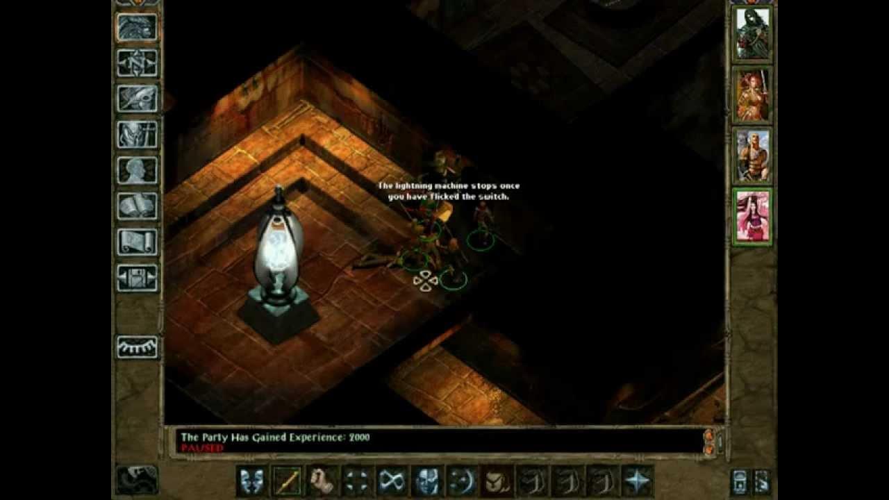 Irenicus Dungeon Level 1 Chapter 1 Sword Coast Stratagems