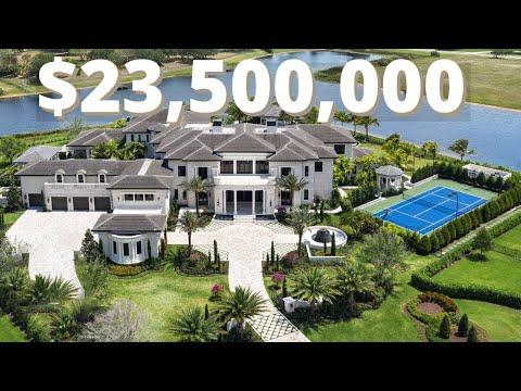 INSIDE The BIGGEST & MOST EPIC MEGA Mansion In Florida | $23.5 MILLION