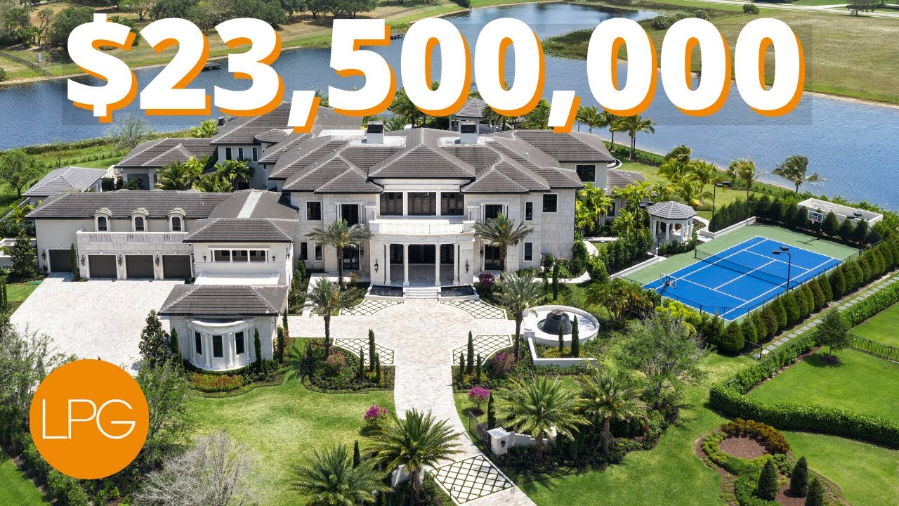 INSIDE the BIGGEST & MOST EPIC MEGA Mansion in Florida | .5 MILLION