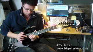 Van Halen Eruption Tapping(FREE Download) by Rayson Kong