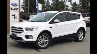 2018 Ford Escape SEL EcoBoost AWD Review| Island Ford
