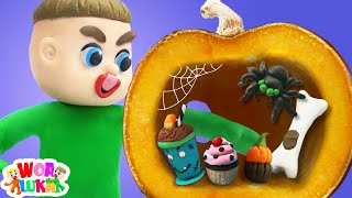 Who took Halloween candy ? 🍬 Luka Trick or Treat Funny Cartoons Animation Stories For Children