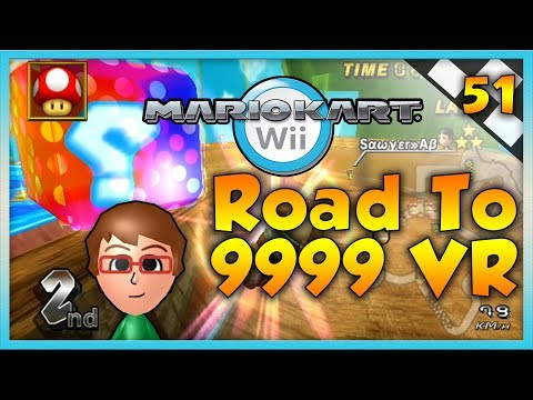Mario Kart Wii Custom Tracks - SNIPES & Sorrow - Road To 9999 VR | Ep. 51