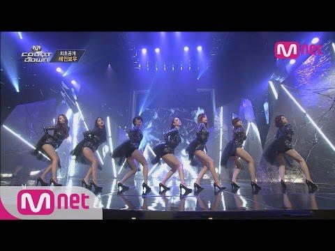 컴백 레인보우! 고혹적인 블랙스완 무대 공개! (RAINBOW - Black Swan) M! COUNTDOWN 013화