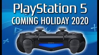 PS5 Coming Holiday 2020 CONFIRMED. New Controller and UI *NEW DETAILS*