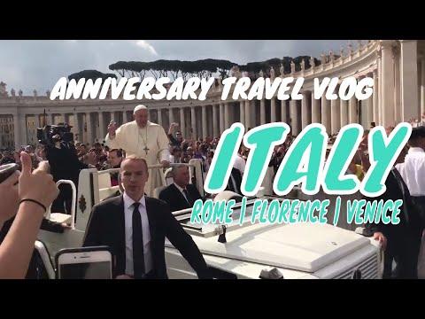 Italy Anniversary Trip | Rome | Florence | Venice | SuperWifeyLiz Vlog