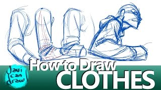 IS THIS THE SECRET FOR DRAWING CLOTHES??? thumbnail