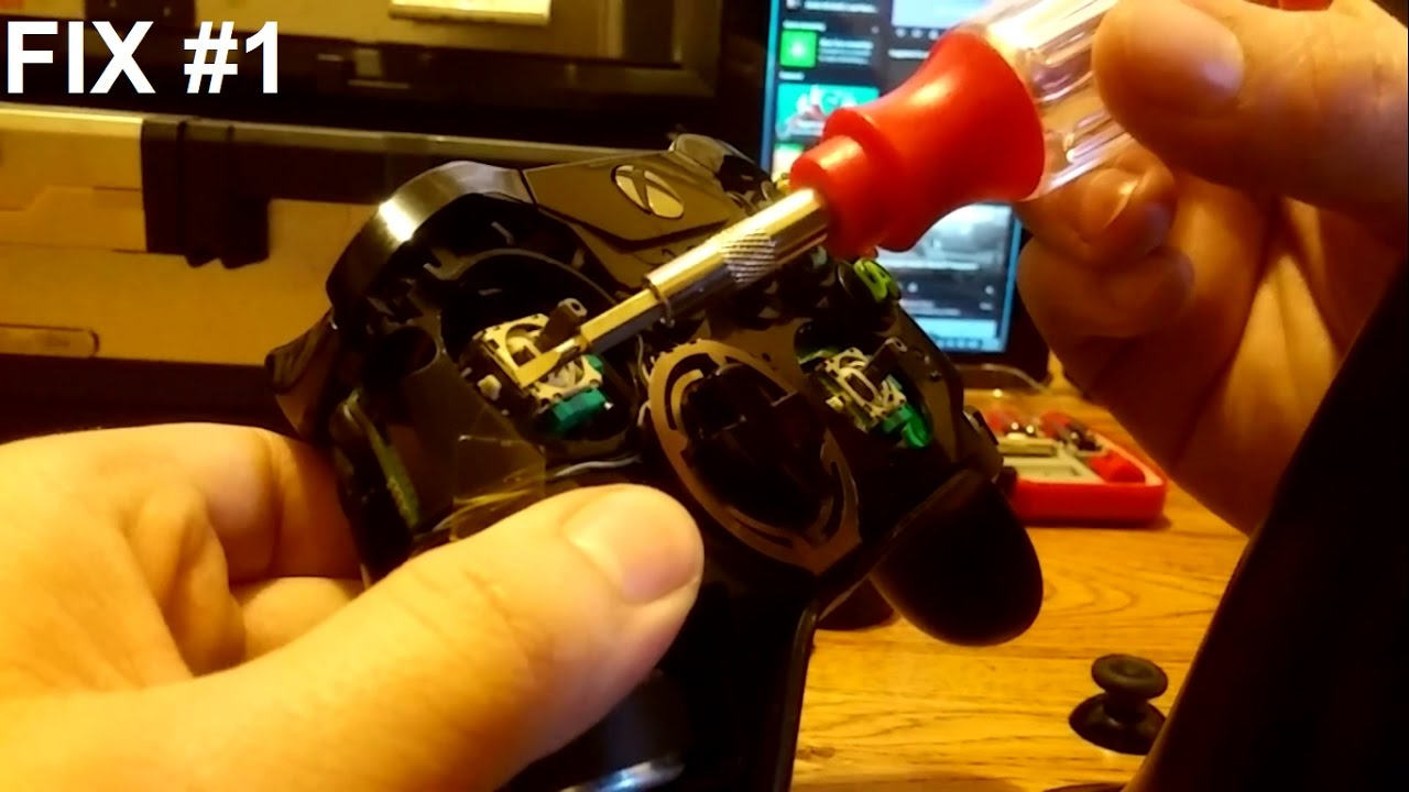 Xbox One Controller Joystick Moving By Itself SOLVED - Fix Joystick  Drifting!