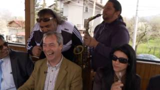 Nigel Farage visits Bulgaria - full video
