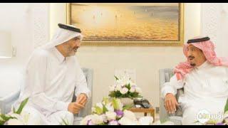 أخبار عربية | #الملك_سلمان يستقبل الشيخ عبدالله بن علي آل ثاني في طنجة