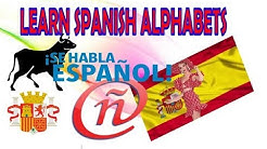 Learn spanish fast : Spanish alphabets Lesson : 01