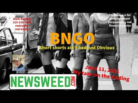 BNGO Bianano Genomics june 21 2021 newsweed