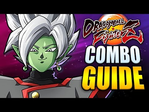 ZAMASU Best Combos - Easy to Advanced! (80% Damage) - Dragon Ball FighterZ