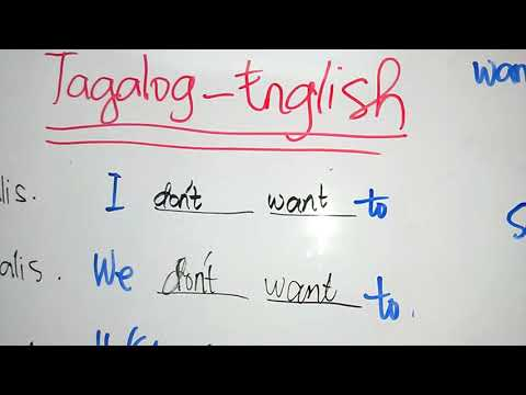 Tagalog-English Translations Part 1