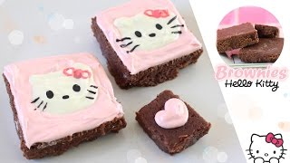 Brownies Sin Horno De Hello Kitty | Akari Beauty