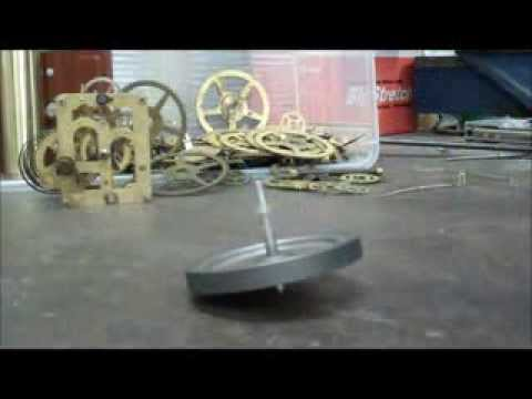 RE: DIY spinning top power 5000  RPM video response
