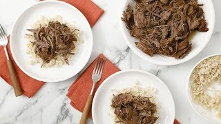 Shredded Beef Chuck Roast- Martha Stewart