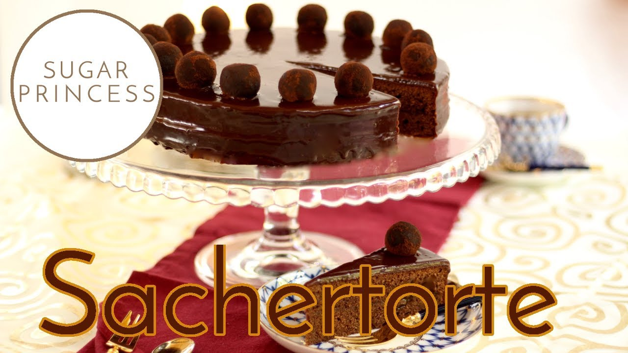 Super saftige Sachertorte Grundrezept | Sugarprincess