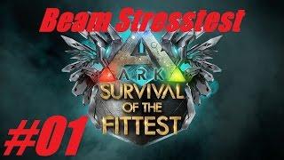 Let's Play ARK: SotF #01 - Stresstest Beam Server [Survival] [German Deutsch] [HD]