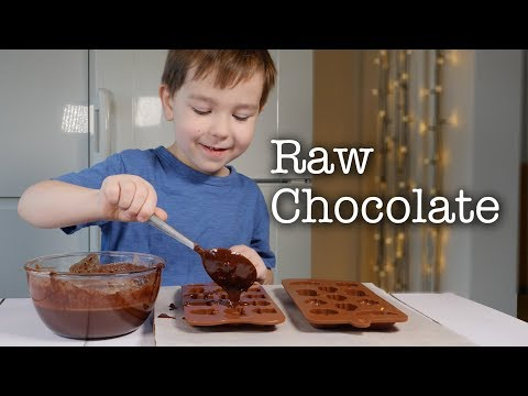 How To Make Raw Chocolate With Kids At Home