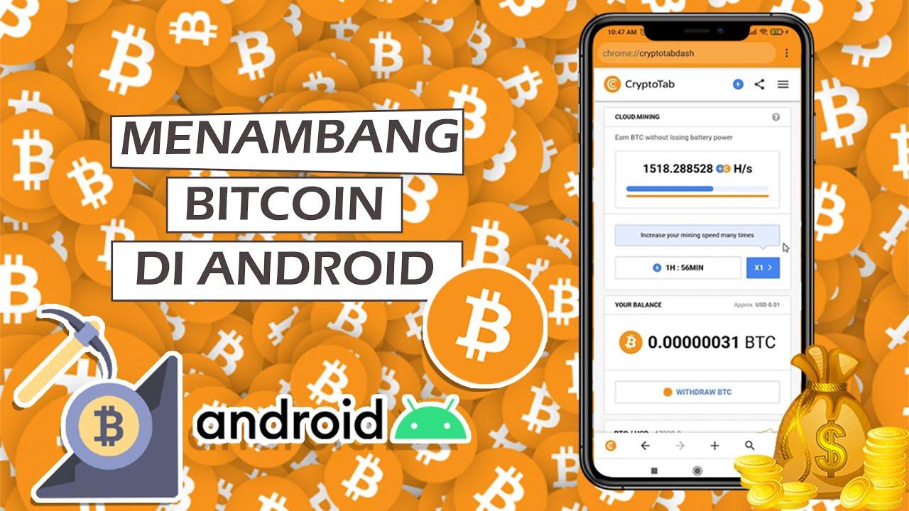 nambang bitcoin di android