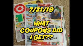 7/21/19 WHAT COUPONS DID I GET? | TARGET AD PREVIEW