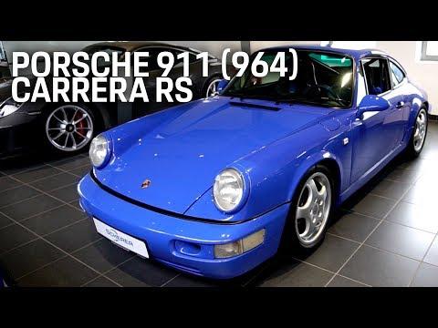 Porsche 911 / 964 Carrera RS • Review 2019 Walkaround Test German