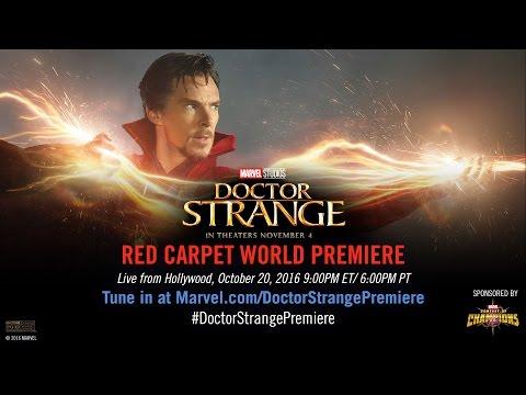 Marvel's Doctor Strange Red Carpet Premiere