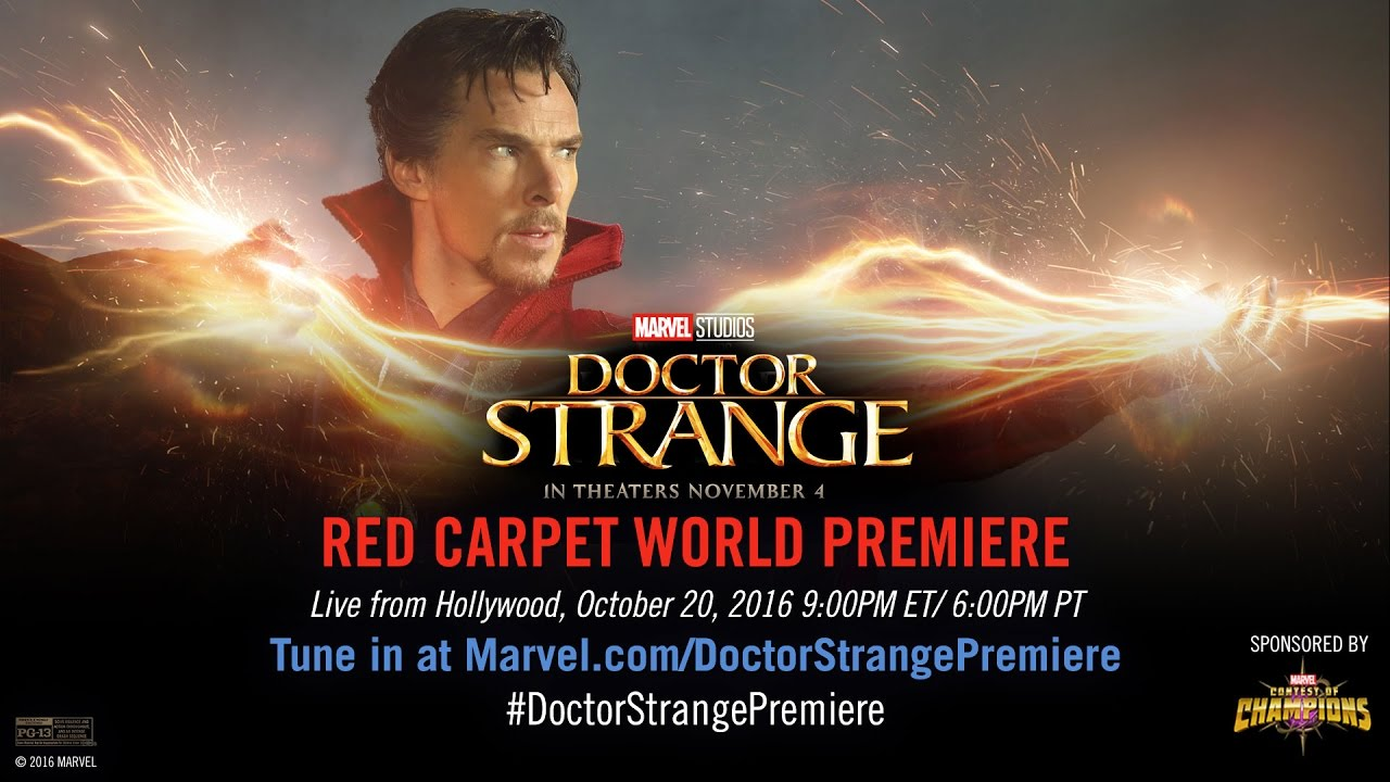 Marvel S Doctor Strange Red Carpet Premiere